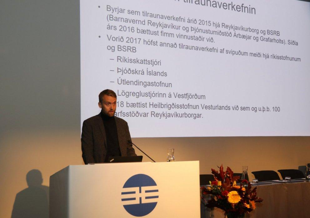 Fjallað var um styttingu vinnuvikunnar á 45. þingi BSRB.