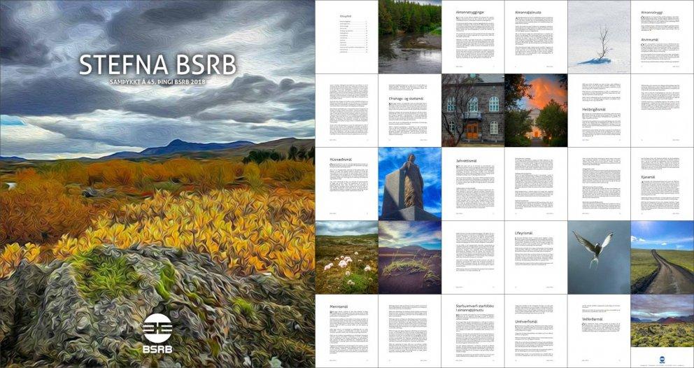 Stefna BSRB var uppfærð á 45. þingi bandalagsins og hefur nú verið gefin út.