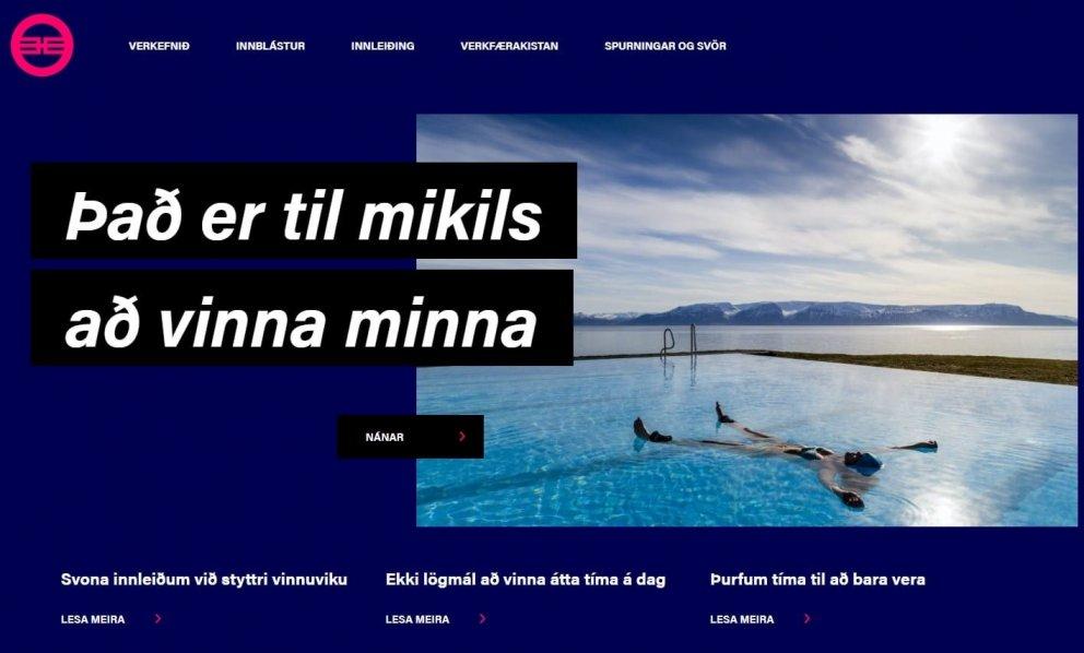Vefurinn styttri.is var besta frétta- og upplýsingavefur ársins 2021.